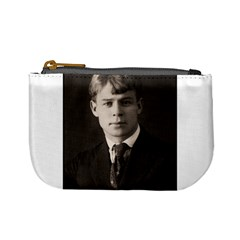 Sergei Yesenin Mini Coin Purses by Valentinaart
