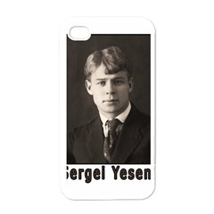 Sergei Yesenin Apple Iphone 4 Case (white) by Valentinaart