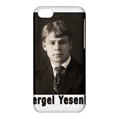 Sergei Yesenin Apple Iphone 5c Hardshell Case by Valentinaart