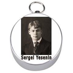 Sergei Yesenin Silver Compasses by Valentinaart