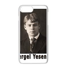 Sergei Yesenin Apple Iphone 7 Plus White Seamless Case by Valentinaart