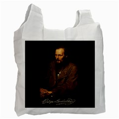 Fyodor Dostoyevsky Recycle Bag (two Side)  by Valentinaart