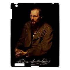 Fyodor Dostoyevsky Apple Ipad 3/4 Hardshell Case by Valentinaart