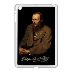 Fyodor Dostoyevsky Apple Ipad Mini Case (white) by Valentinaart