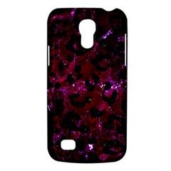 Skin5 Black Marble & Burgundy Marble Galaxy S4 Mini by trendistuff