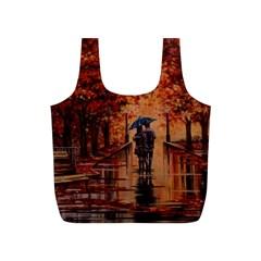 Unspoken Love  Reusable Bag (s) by ArtByThree