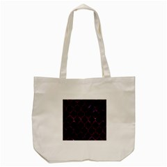 Tile1 Black Marble & Burgundy Marble Tote Bag (cream) by trendistuff