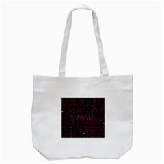 Woven1 Black Marble & Burgundy Marble Tote Bag (white) by trendistuff