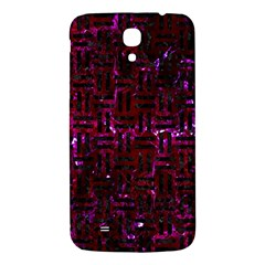 Woven1 Black Marble & Burgundy Marble (r) Samsung Galaxy Mega I9200 Hardshell Back Case by trendistuff