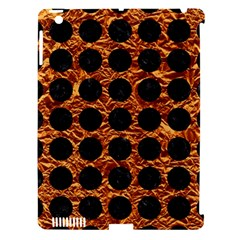 Circles1 Black Marble & Copper Foil (r) Apple Ipad 3/4 Hardshell Case (compatible With Smart Cover) by trendistuff