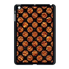 Circles2 Black Marble & Copper Foil Apple Ipad Mini Case (black) by trendistuff