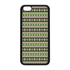 Fancy Tribal Border Pattern 17a Apple Iphone 5c Seamless Case (black) by MoreColorsinLife