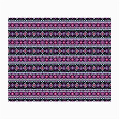 Fancy Tribal Border Pattern 17c Small Glasses Cloth by MoreColorsinLife