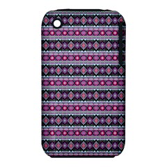 Fancy Tribal Border Pattern 17c Iphone 3s/3gs by MoreColorsinLife