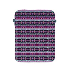 Fancy Tribal Border Pattern 17c Apple Ipad 2/3/4 Protective Soft Cases by MoreColorsinLife