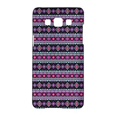 Fancy Tribal Border Pattern 17c Samsung Galaxy A5 Hardshell Case  by MoreColorsinLife