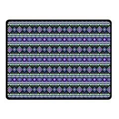 Fancy Tribal Border Pattern 17d Fleece Blanket (small) by MoreColorsinLife