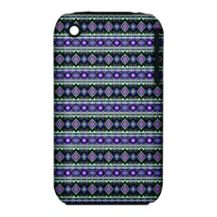 Fancy Tribal Border Pattern 17d Iphone 3s/3gs by MoreColorsinLife