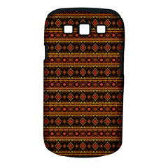 Fancy Tribal Border Pattern 17e Samsung Galaxy S Iii Classic Hardshell Case (pc+silicone) by MoreColorsinLife