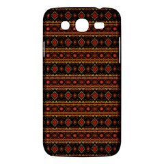 Fancy Tribal Border Pattern 17e Samsung Galaxy Mega 5 8 I9152 Hardshell Case  by MoreColorsinLife