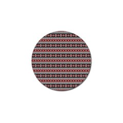 Fancy Tribal Border Pattern 17f Golf Ball Marker (10 Pack) by MoreColorsinLife