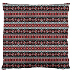 Fancy Tribal Border Pattern 17f Standard Flano Cushion Case (two Sides) by MoreColorsinLife