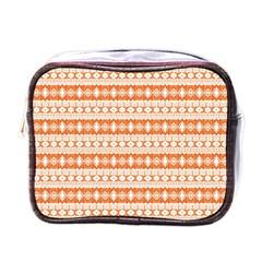 Fancy Tribal Border Pattern 17i Mini Toiletries Bags by MoreColorsinLife