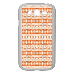Fancy Tribal Border Pattern 17i Samsung Galaxy Grand Duos I9082 Case (white) by MoreColorsinLife
