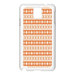 Fancy Tribal Border Pattern 17i Samsung Galaxy Note 3 N9005 Case (white) by MoreColorsinLife