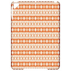 Fancy Tribal Border Pattern 17i Apple Ipad Pro 9 7   Hardshell Case by MoreColorsinLife