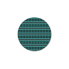 Fancy Tribal Border Pattern 17g Golf Ball Marker (4 Pack) by MoreColorsinLife
