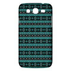 Fancy Tribal Border Pattern 17g Samsung Galaxy Mega 5 8 I9152 Hardshell Case  by MoreColorsinLife