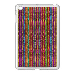 Star Fall In  Retro Peacock Colors Apple Ipad Mini Case (white) by pepitasart