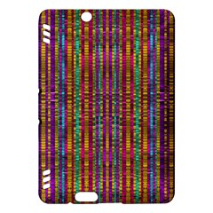 Star Fall In  Retro Peacock Colors Kindle Fire Hdx Hardshell Case by pepitasart