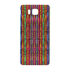 Star Fall In  Retro Peacock Colors Samsung Galaxy Alpha Hardshell Back Case by pepitasart