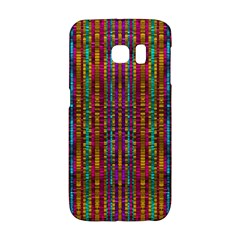 Star Fall In  Retro Peacock Colors Galaxy S6 Edge by pepitasart