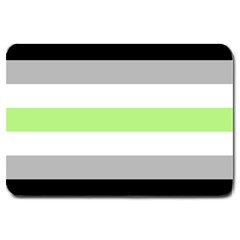 Age Stripes Large Doormat  by AllOverIt