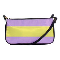 Apo Stripes Shoulder Clutch Bags by AllOverIt