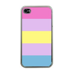 Apo Stripes Apple Iphone 4 Case (clear) by AllOverIt