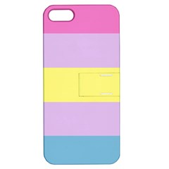 Apo Stripes Apple Iphone 5 Hardshell Case With Stand by AllOverIt