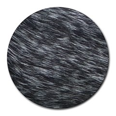 Blue Hair Round Mousepads by AllOverIt