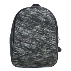 Blue Hair School Bag (large) by AllOverIt