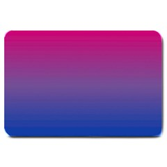 Bi Rainbow Large Doormat  by AllOverIt