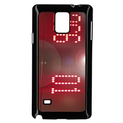 Numbers Game Samsung Galaxy Note 4 Case (black) by norastpatrick