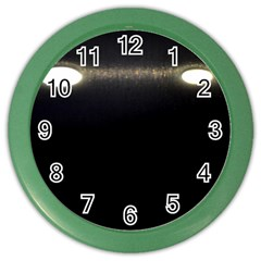 Black Lite!  Color Wall Clocks by norastpatrick