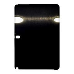 Black Lite!  Samsung Galaxy Tab Pro 10 1 Hardshell Case by norastpatrick