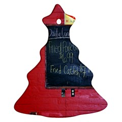 Country Store   Christmas Tree Ornament (two Sides) by norastpatrick