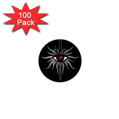 Inquisition Symbol 1  Mini Magnets (100 Pack)  by Valentinaart