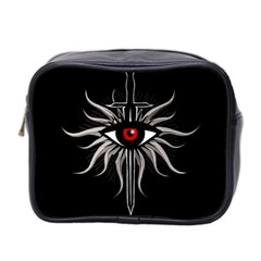 Inquisition Symbol Mini Toiletries Bag 2 Side by Valentinaart