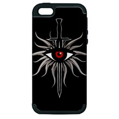 Inquisition Symbol Apple Iphone 5 Hardshell Case (pc+silicone) by Valentinaart